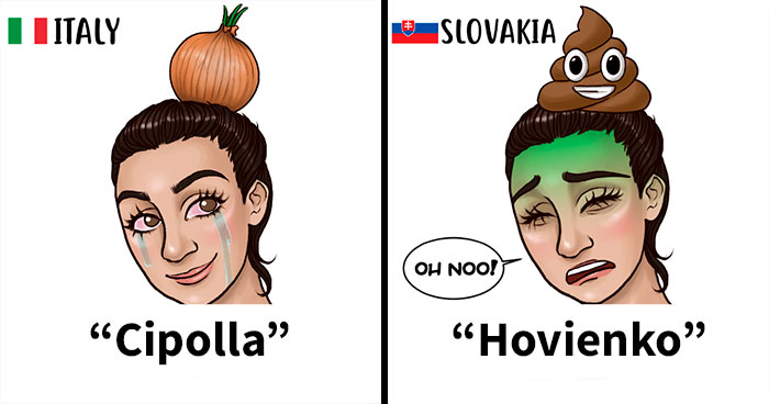 I Illustrated Different Ways People Call Hair Buns Around The Globe