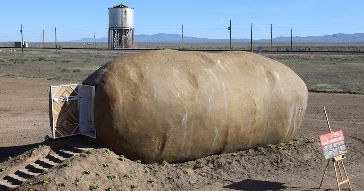Giant Potato In Idaho Gets Turned Into An Airbnb And You Can Stay There For $200 A Night