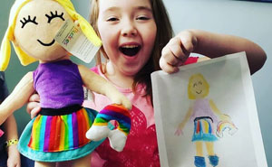 This Company Turns Children's Drawings Into Cuddly Plush Toys