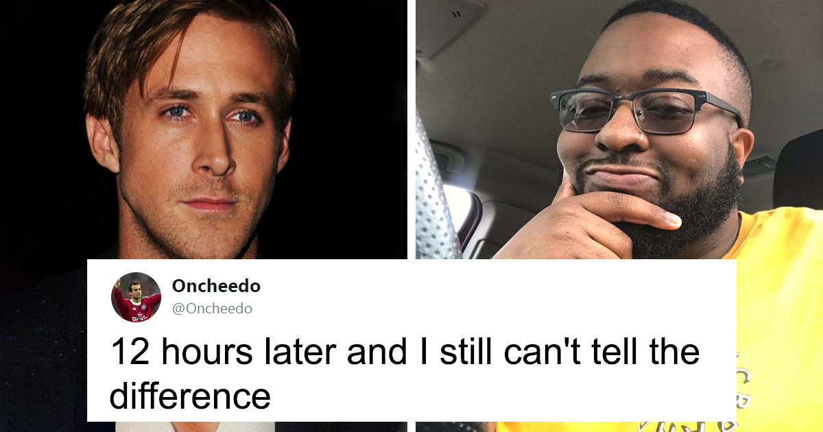 Guy On Twitter Compares Himself To Ryan Gosling And People Can't Find Any Differences