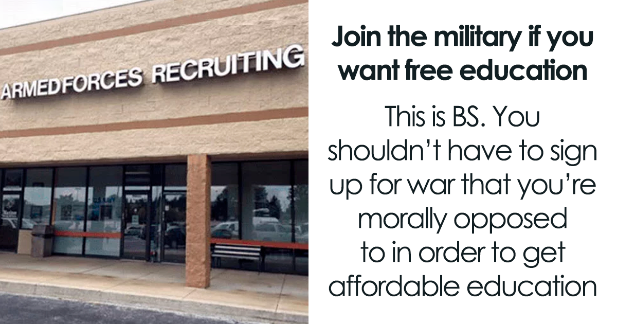 """Baby Boomer Suggests Everyone Who Wants """"Free"""" Education Should Join The Army, Millennial Explains Why He's Wr"""