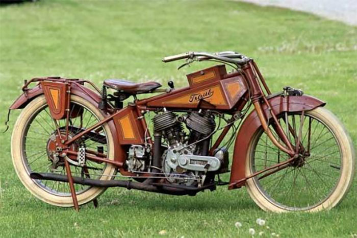 One Of A Kind 100 Year Old Traub Motorcycle Found Bricked-Up In A Wall For 40 Years And It Still Somehow Works