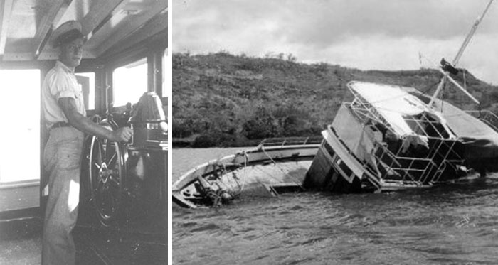 In 1955, A Boat's Entire Crew Of 25 Completely Disappeared Even Though The Boat Itself Didn't Actually Sink