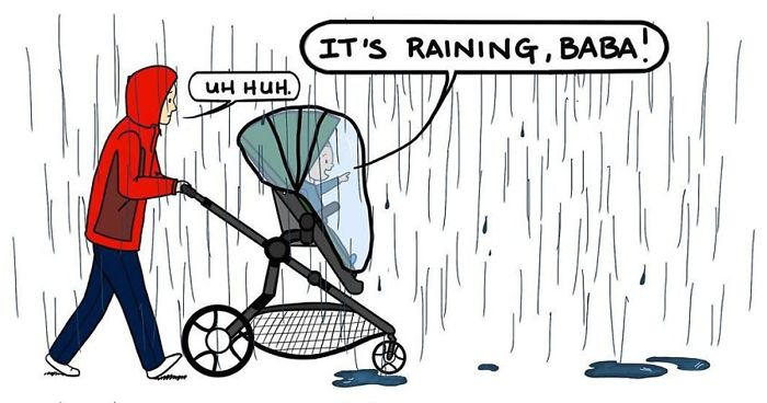 I Drew 30 Comics Of Why I Think Parenthood Is Not For The Faint Of Heart