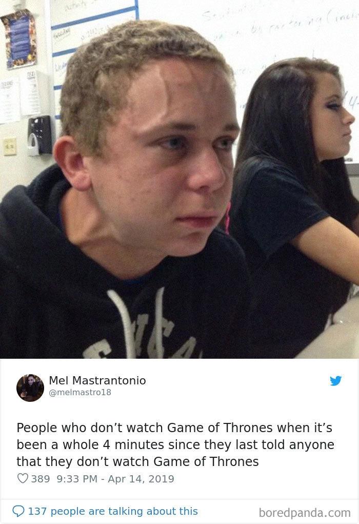 Don't Watch Got Meme