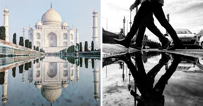 I Travel The Globe To Capture The Parallel Worlds Of Puddles (New Pics)