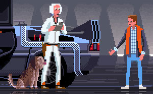 I Create Pixel-Art Illustrations As A Tribute To Popular TV Series And Movies (New Pics)
