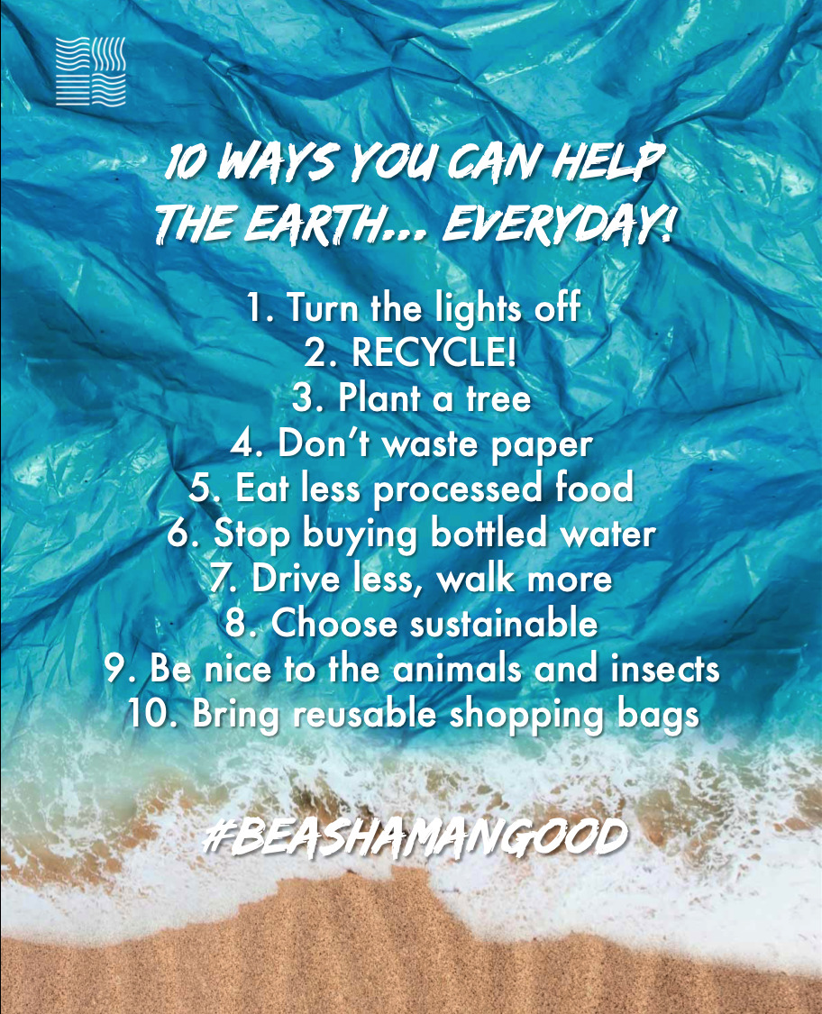 1o Ways You Can Help The Earth… Everyday!