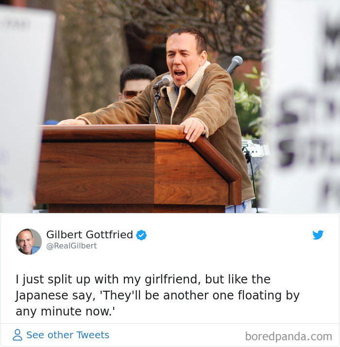 Gilbert Gottfried Made Insensitive Jokes About The The Earthquake Disaster In Japan Which Cost Him A Voice Acting Role