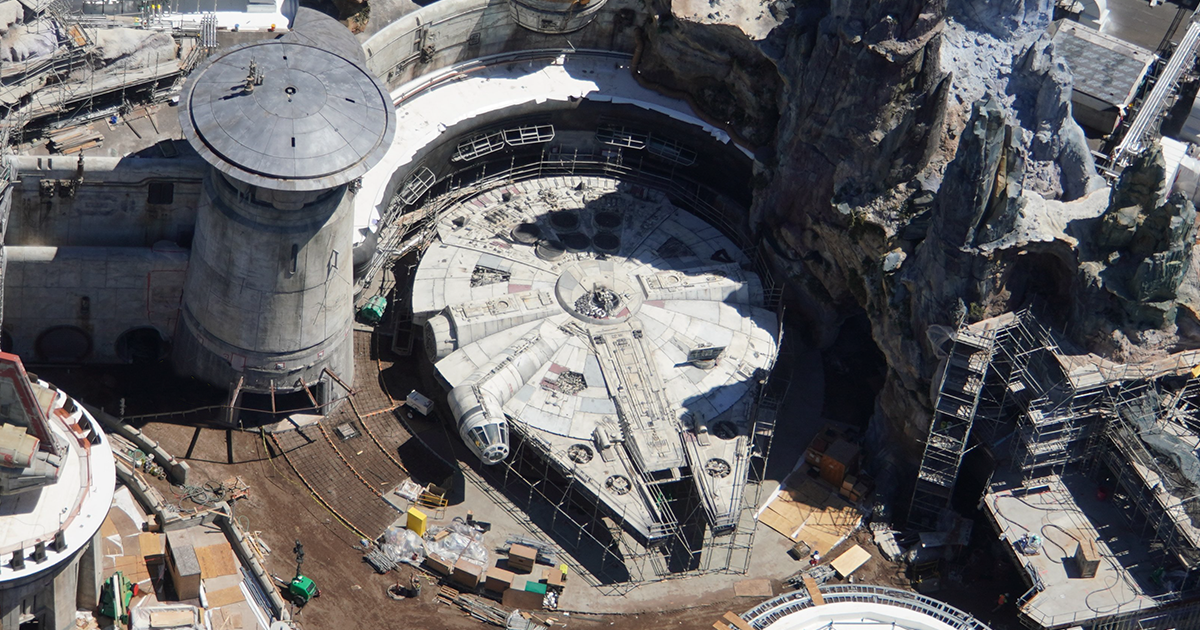 Disney World's $1 Billion Star Wars Land Is Almost Finished, And Here Is Aerial Photo Proof