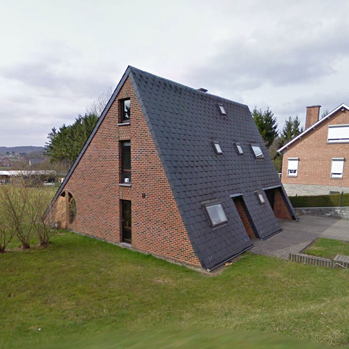 Ugly Belgian Houses