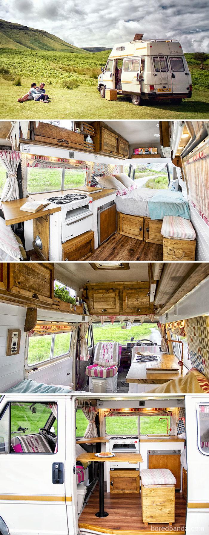 We Transformed This Camper Van In 6 Weeks With Only £1000