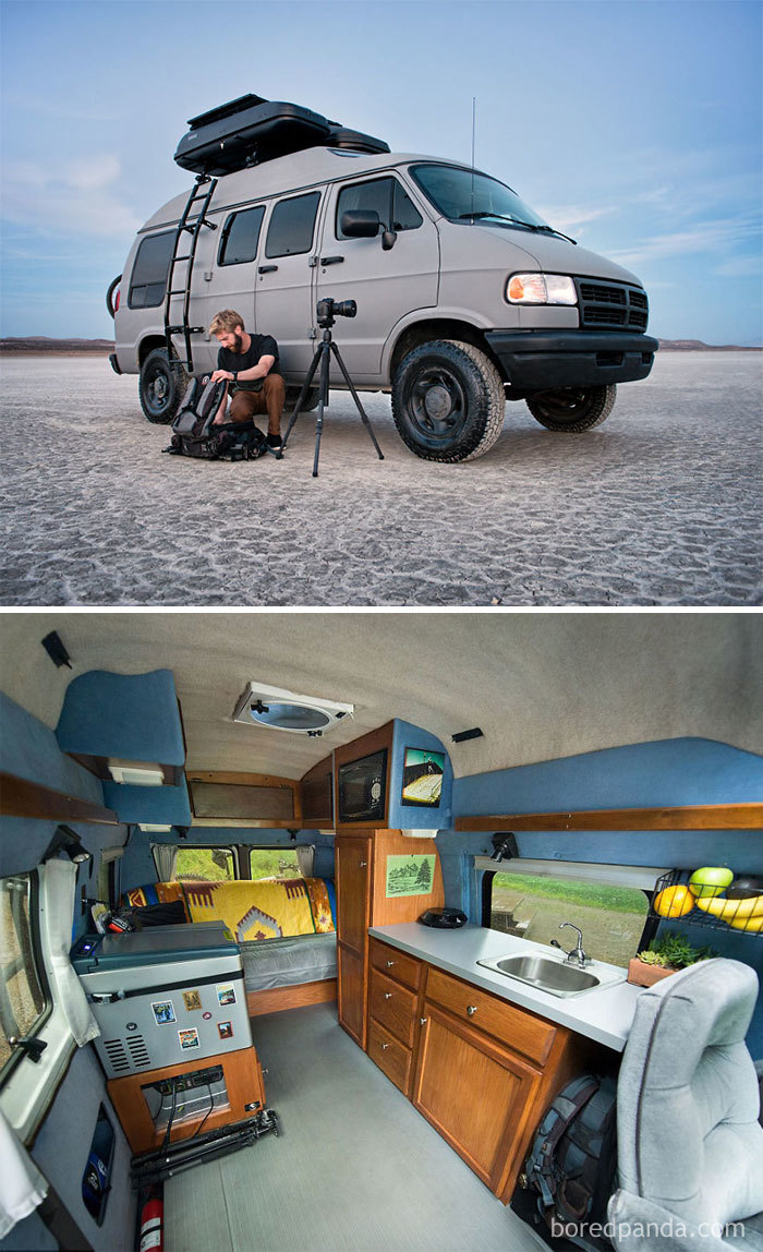 I Turned My Grandma's Old Van Into A Mobile Home So I Could Travel Across North America