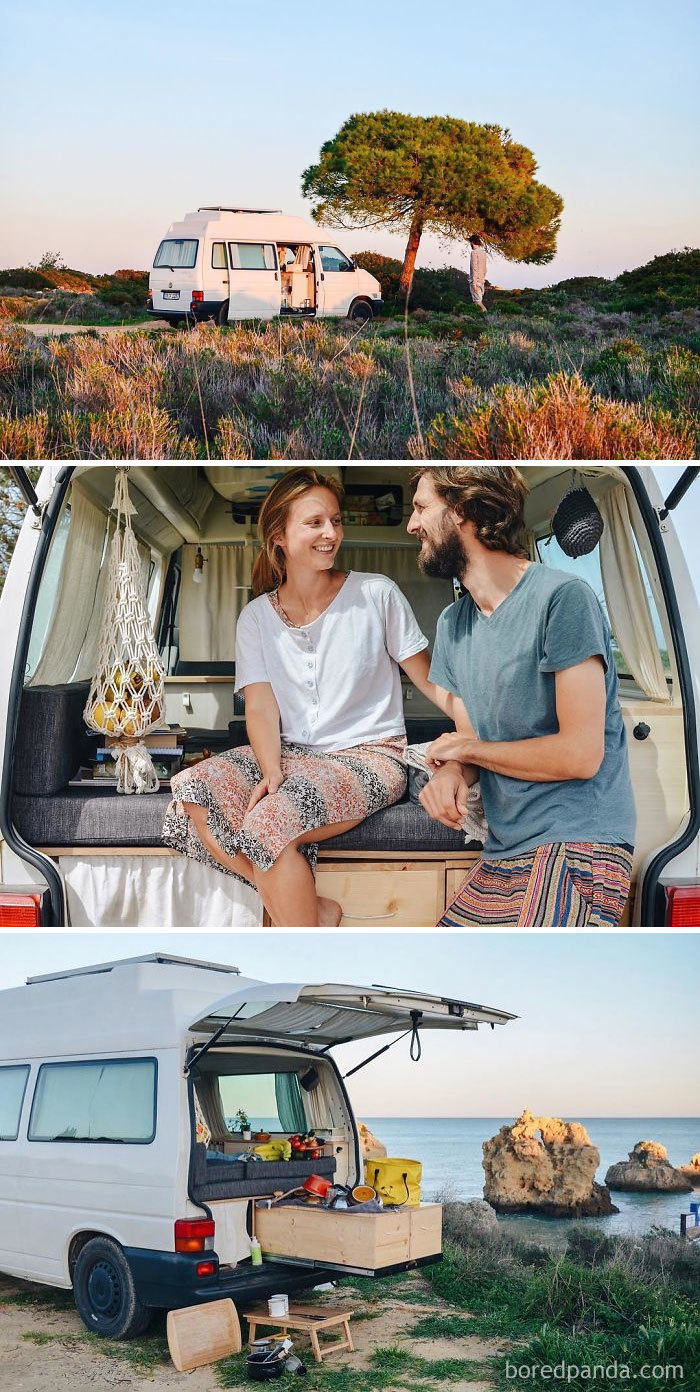We Are From Germany, Chasing Dreams In Our Self Build Vw T4. On The Road Since October, 2017