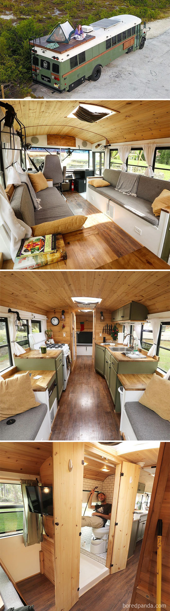 30 Of The Most Epic Bus And Van Conversions Bored Panda