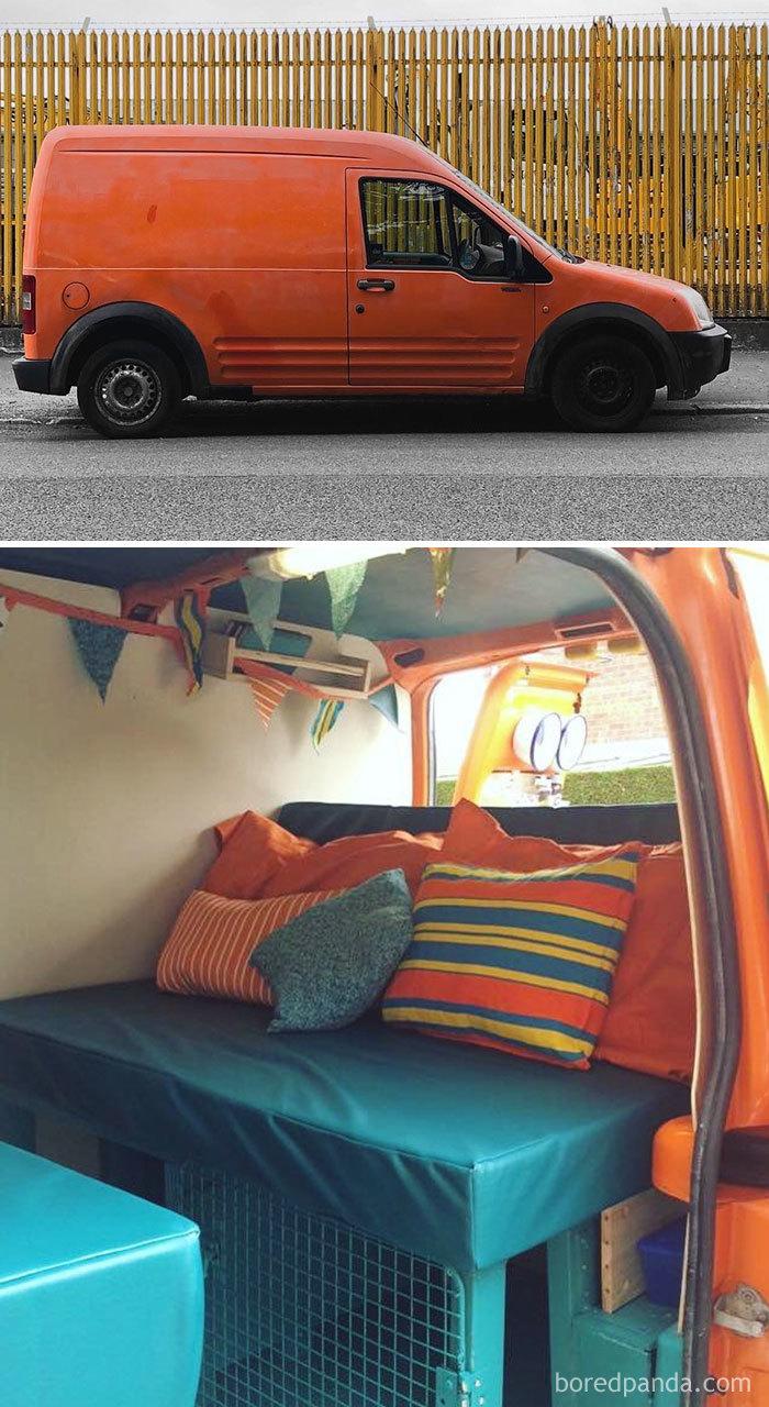 Orange Van Convertion