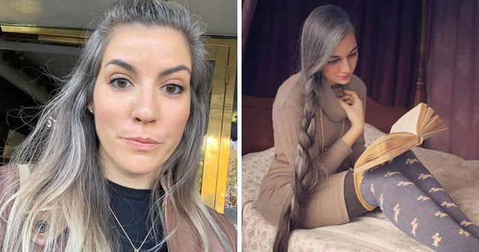 These 30 Women Who Ditched Dyeing Their Hair Look So Good, They May Convince You To Do The Same