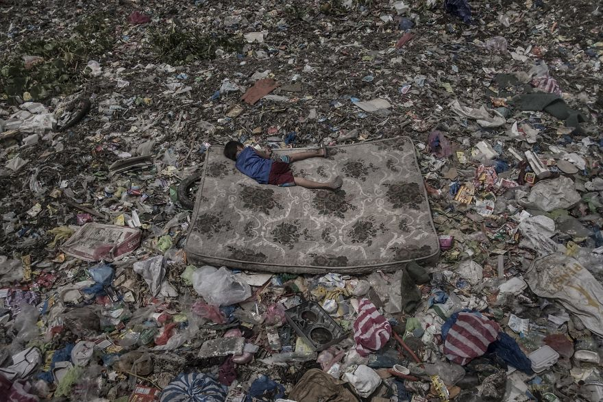 """Environment, Singles, 3rd Prize, """"Living Among What's Left Behind"""" By Mário Cruz"""