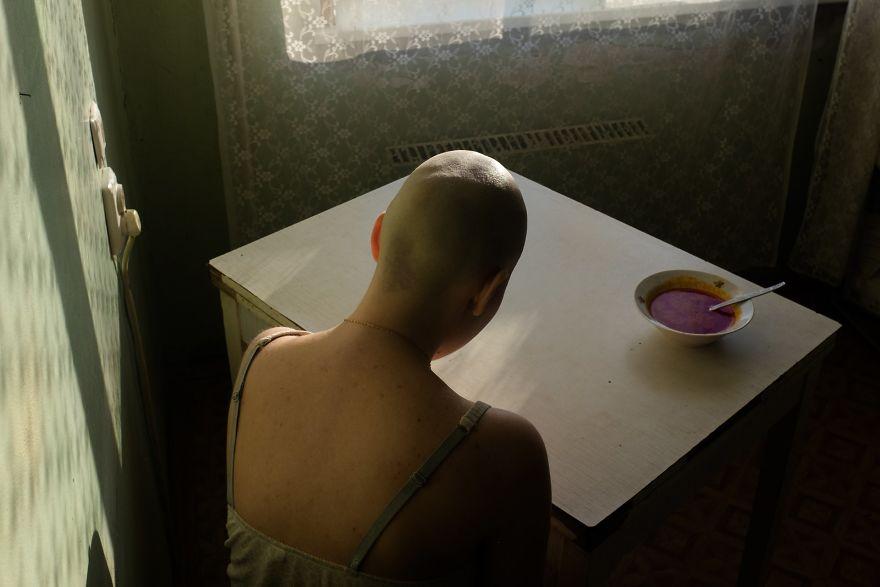 "Portraits, Singles, 3rd Prize, ""When I Was Ill"" By Alyona Kochetkova"