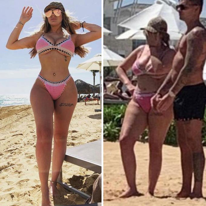 Instagram vs. Reality' Exposes The Truth About Those Unrealistically  'Perfect' Pics | Bored Panda