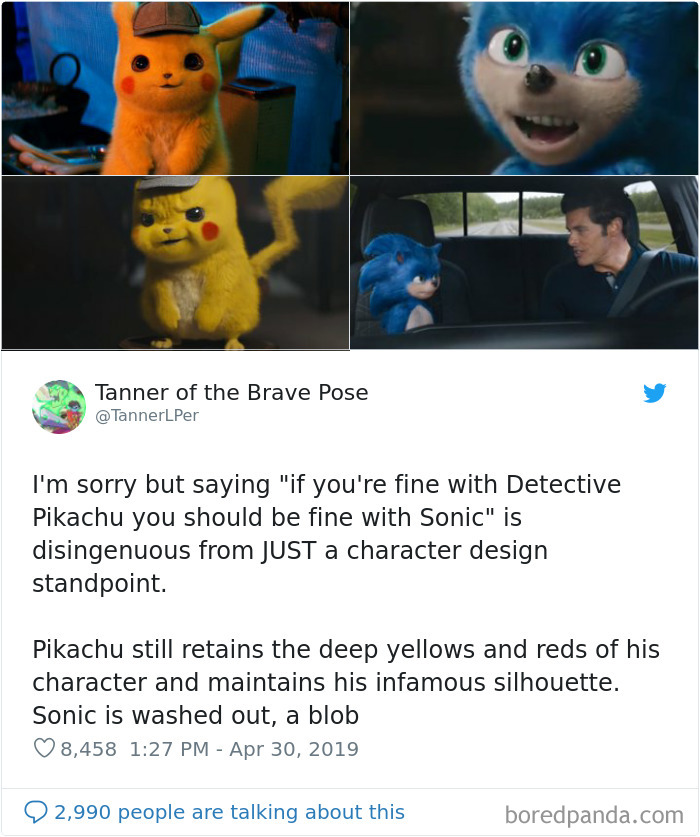 Its Magazine 100 Memes Roasting Sonic The Hedgehog Character Design That Made Creators Change Its Appearance