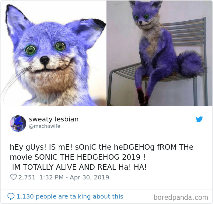 Its Magazine 100 Memes Roasting Sonic The Hedgehog Character Design That Made Creators Change Its Appearance