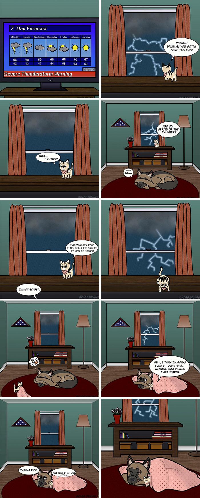 Comics-Adventures-Dogs-Pixie-Brutus-Fan-Art
