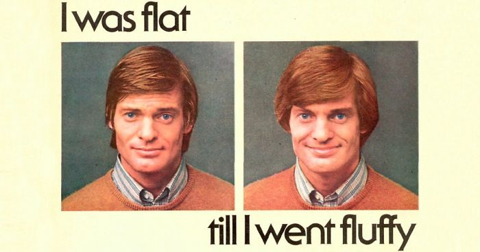 16 Vintage Ads Of Hair Products For Men In The 1970s