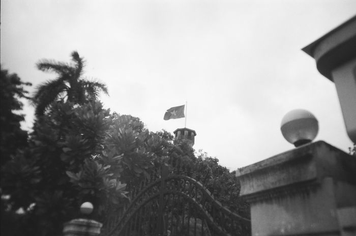 B&w Vietnam From N To S