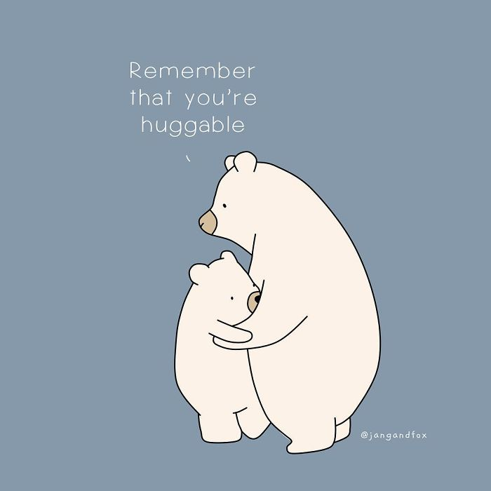 You're Huggable
