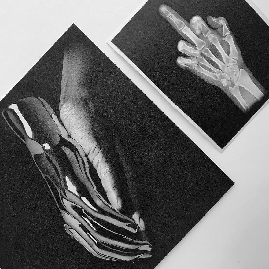 Italian Artist Makes Ultra Realistic Drawings With Pen And The Result Is Impressive