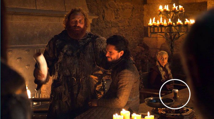 HBO Responds To Leaving That Coffee Cup In Game Of Thrones Scene, Says It's Not Starbucks