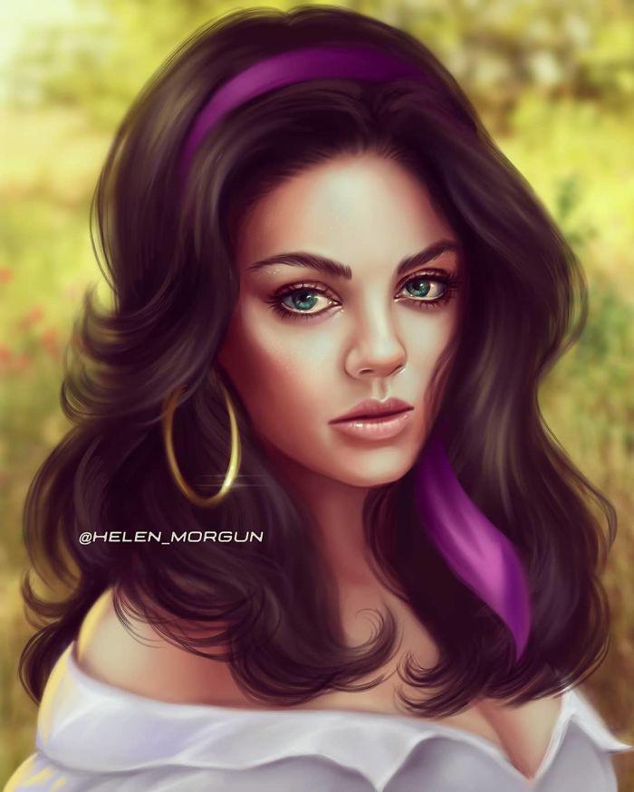 Mila Kunis como Esmeralda