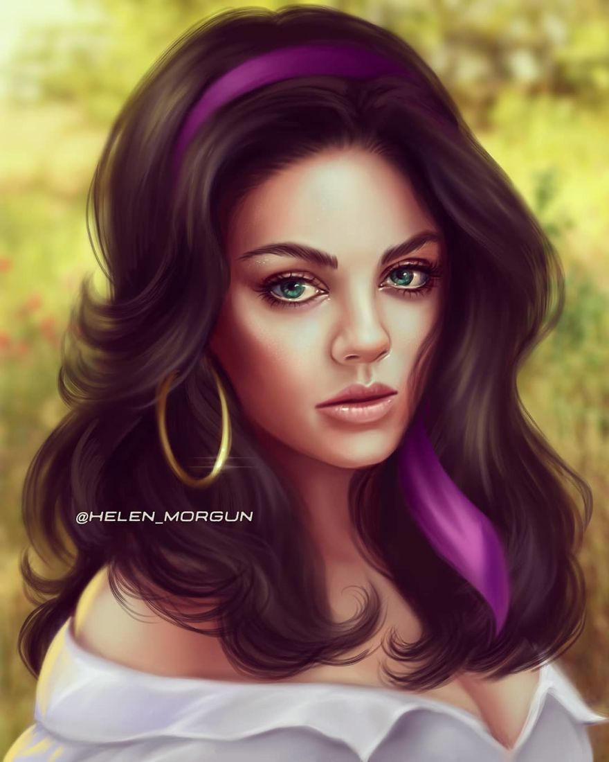 Mila Kunis As Esmeralda
