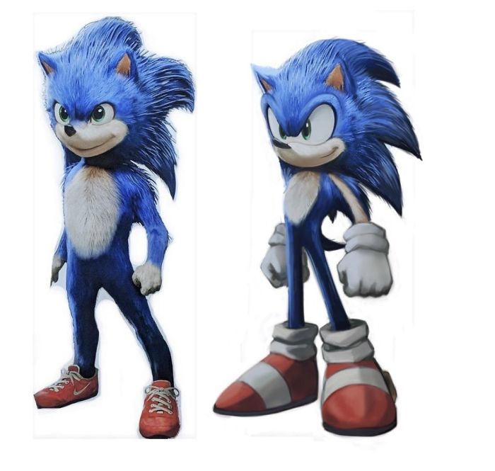30 People That Roasted New Sonic Character Design So Bad That The Creators Decide To Change Its Appearance Bored Panda