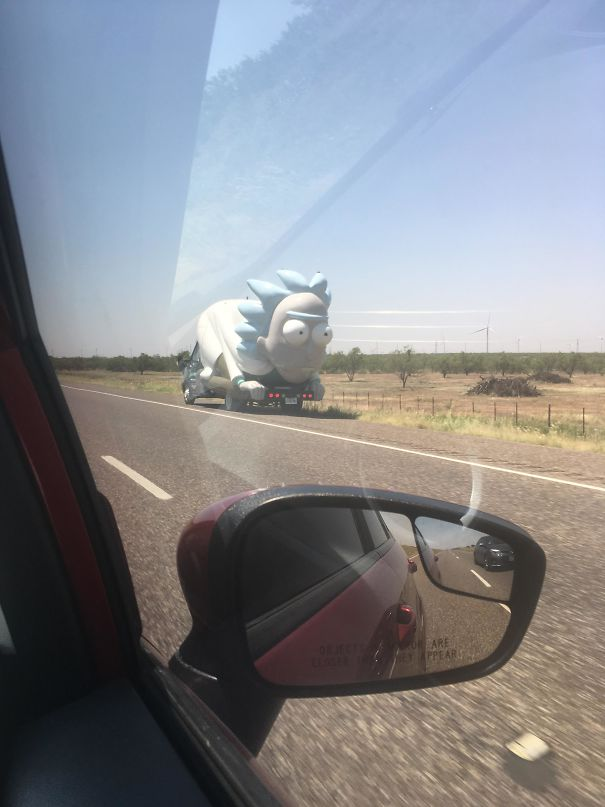 This Rick We Came Across The Highway