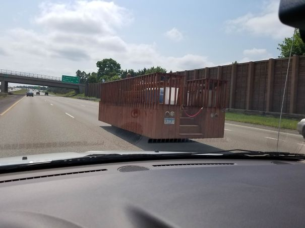 This Deck Was Doing 70mph Down The Highway