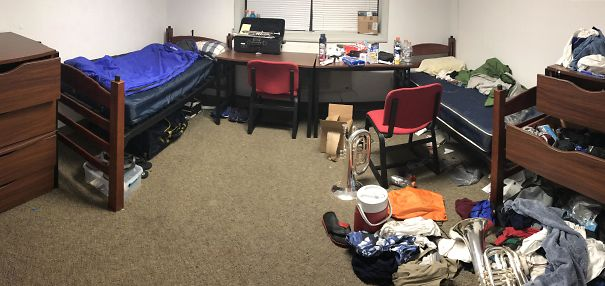 My Side Of The Room vs. My Roommate's Side