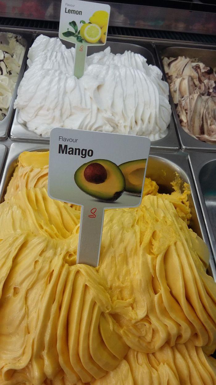 Sí claro, eso es un mango
