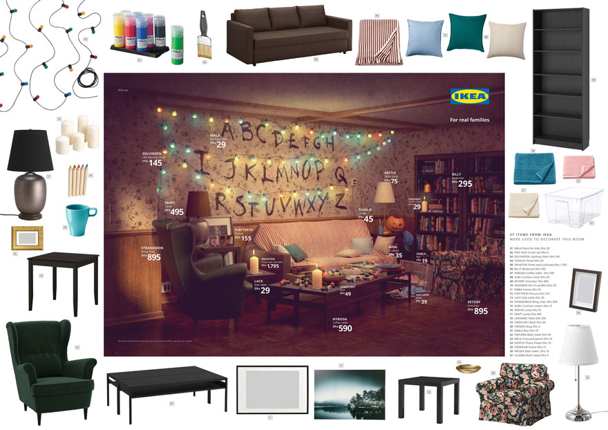 IKEA Recreates The Famous Living Rooms From The Simpsons, Friends And Stranger Things With Its Products