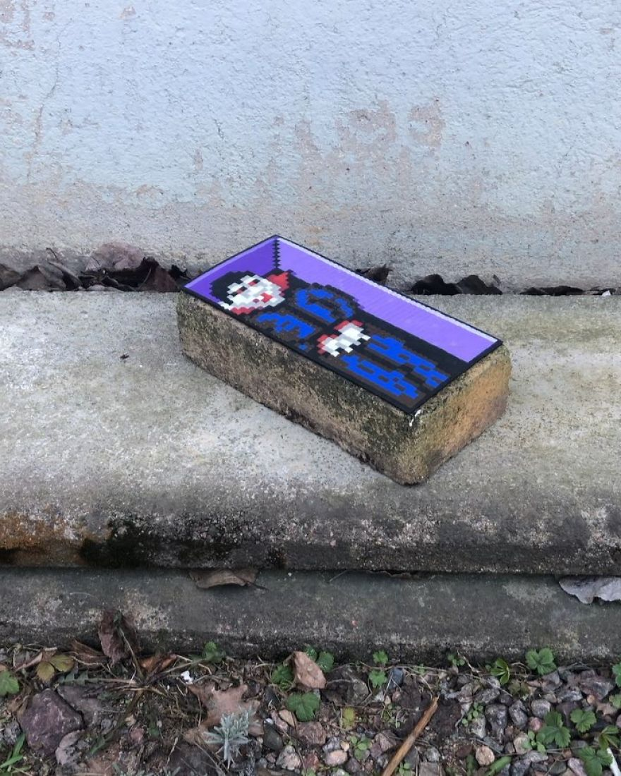 Artist Takes His Pixelated Art The Streets Of The Cities, Leaving Them Much More Fun