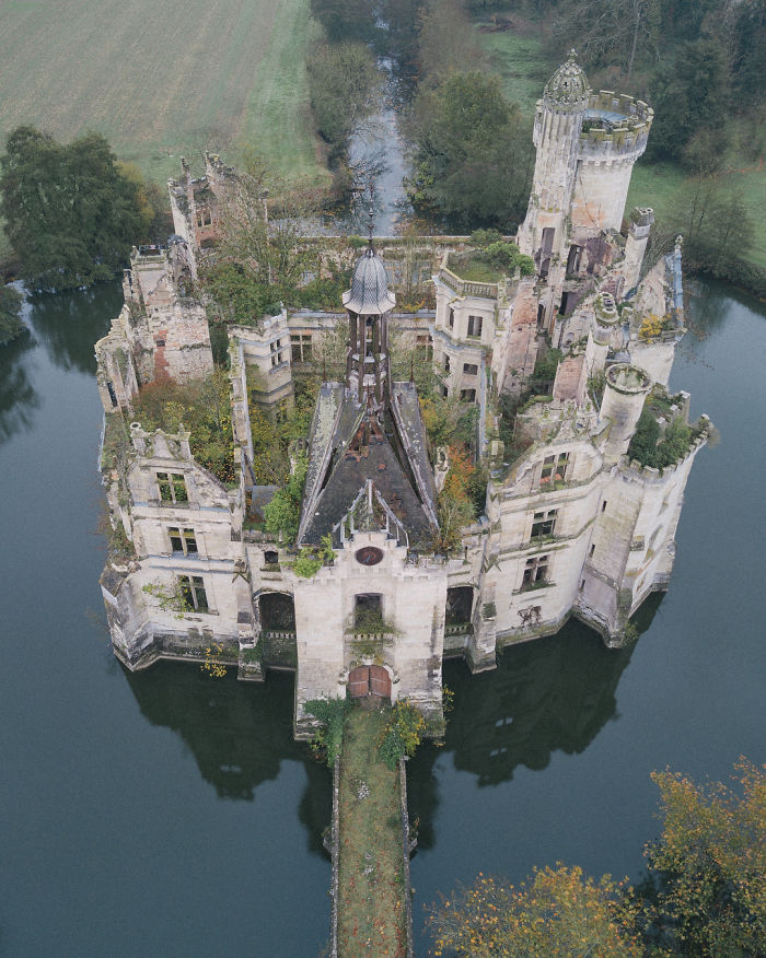 Amazing Abandoned 13th Century Château Located In France