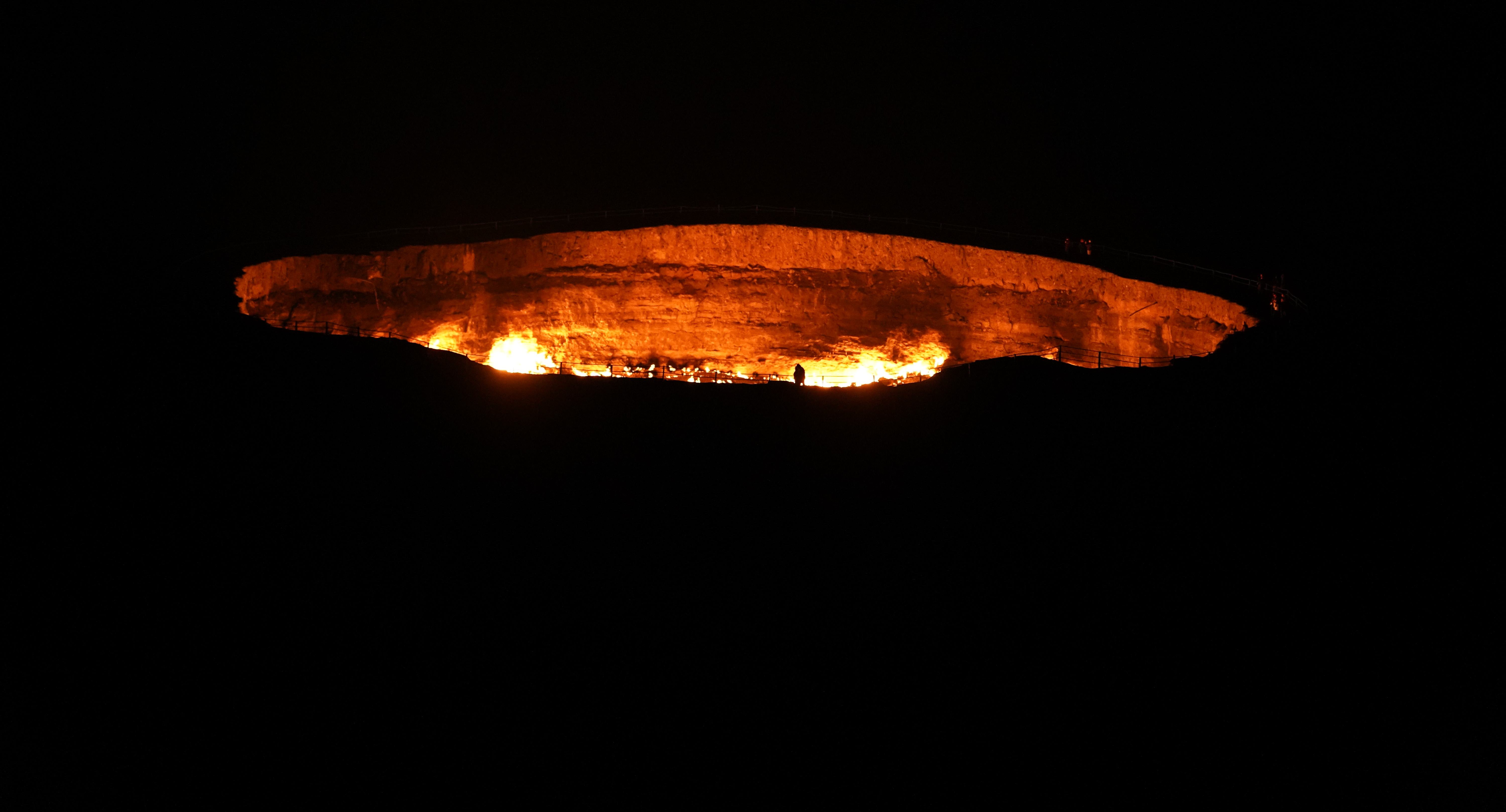 I Visit The Gates To Hell In Turkmenistan.