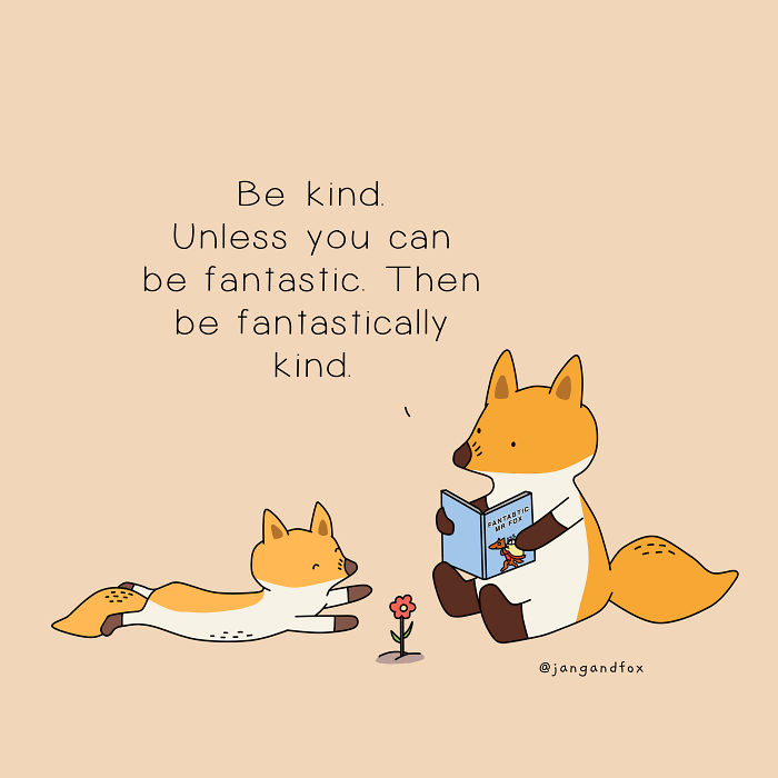 Be Kind To Yourself Too