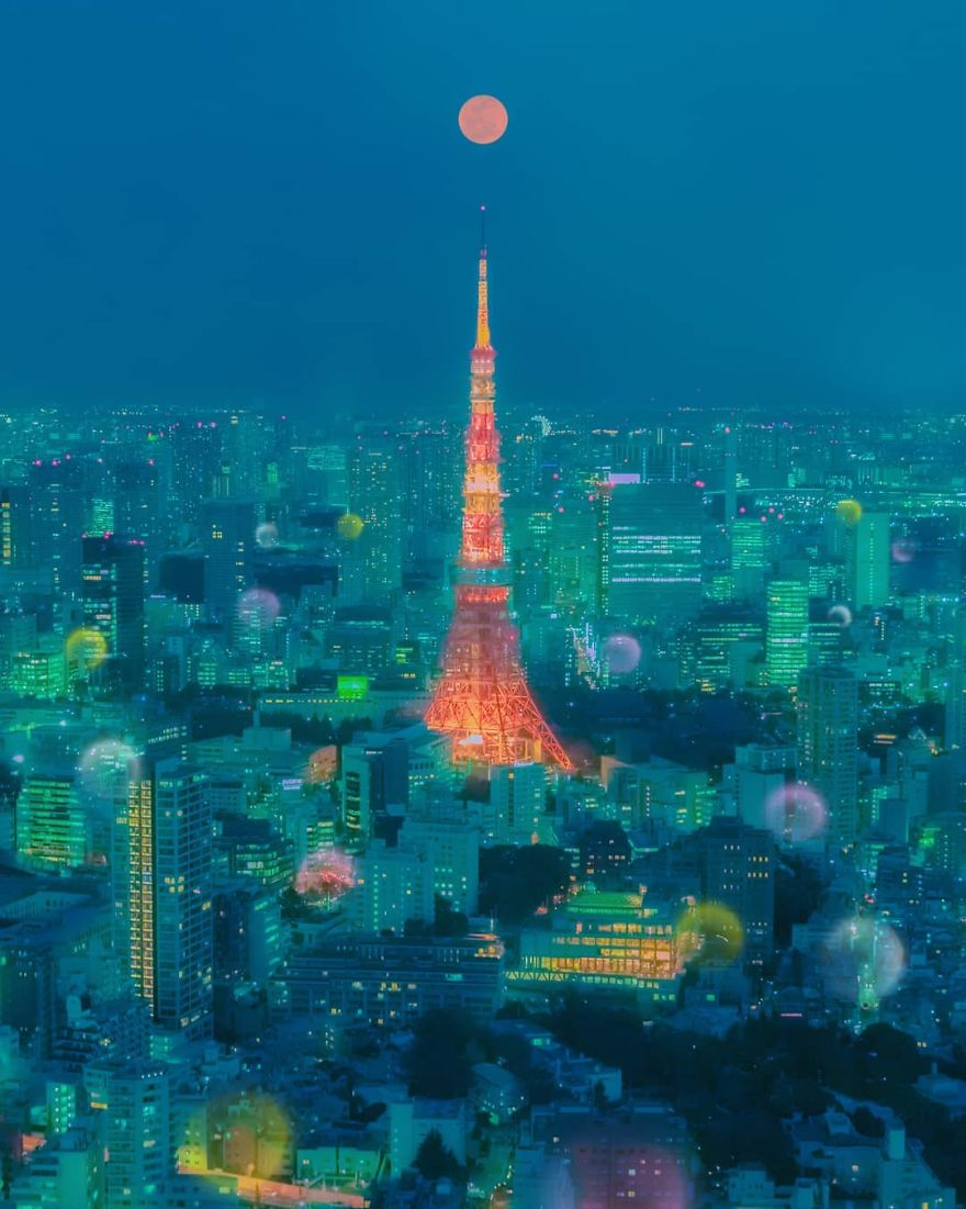 My 14 Photos From The Highest Places In Tokyo Show The Beauty Of The City
