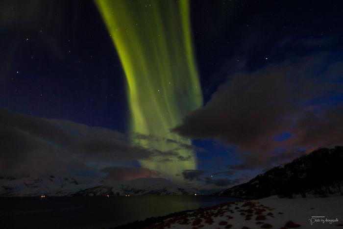 Aurora At Fjords