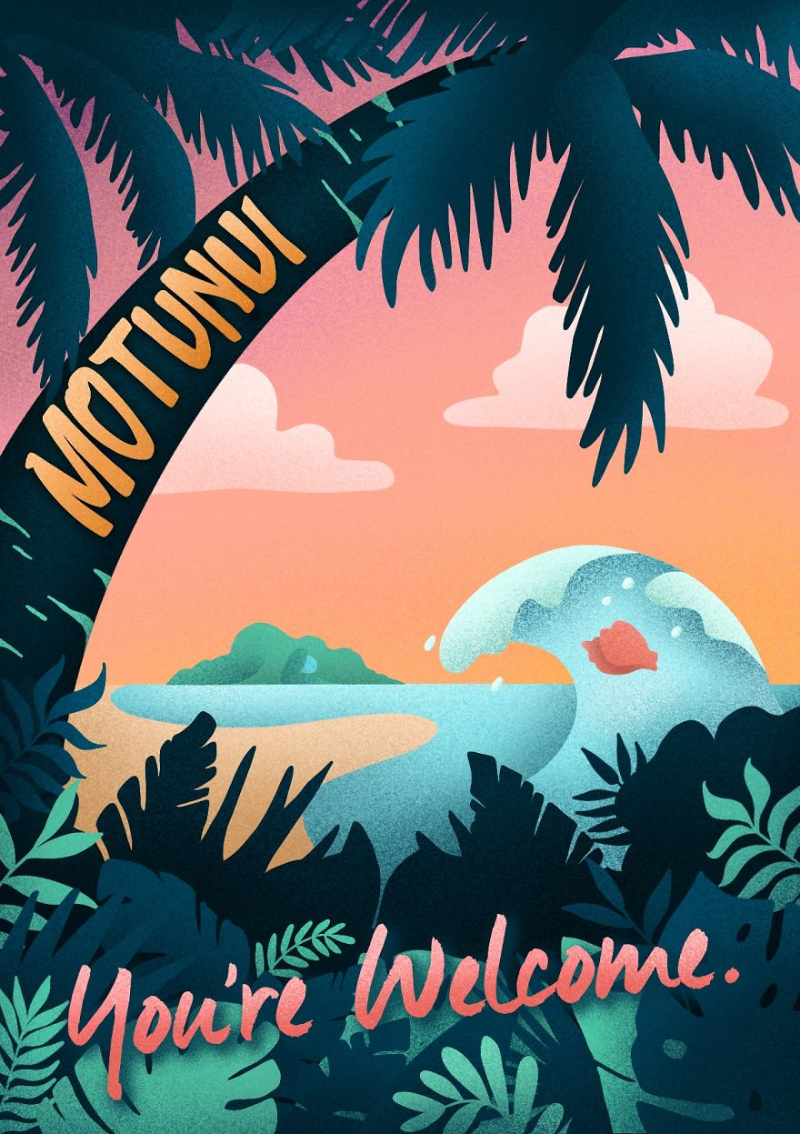 These Disney-Inspired Travel Posters Will Have You Ready To Explore A Whole New World