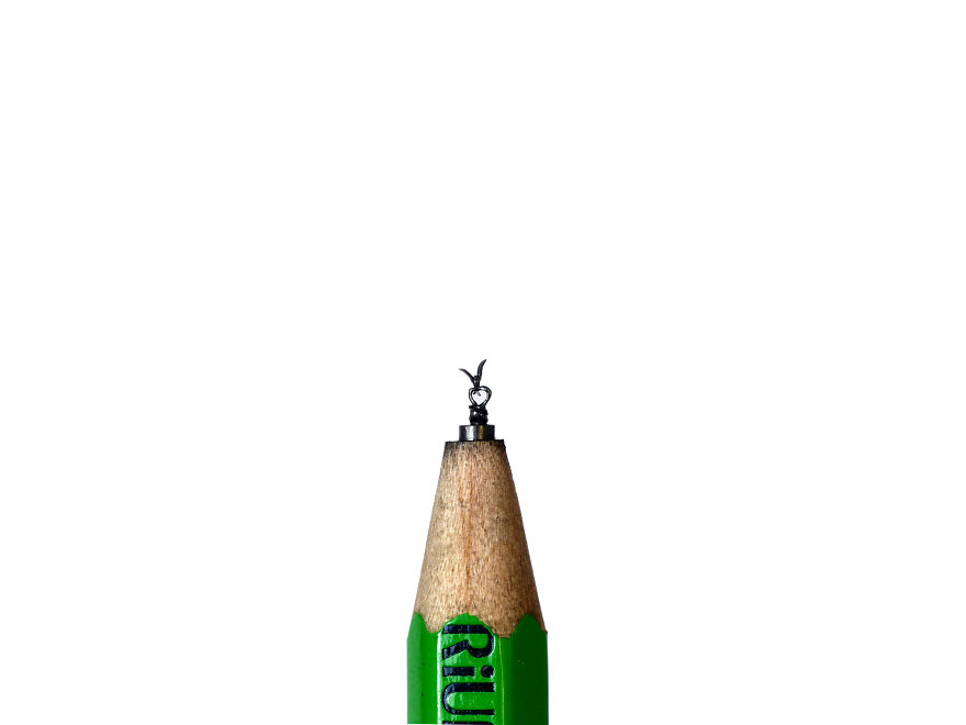 I Carve On Pencil Leads 2 Mm High