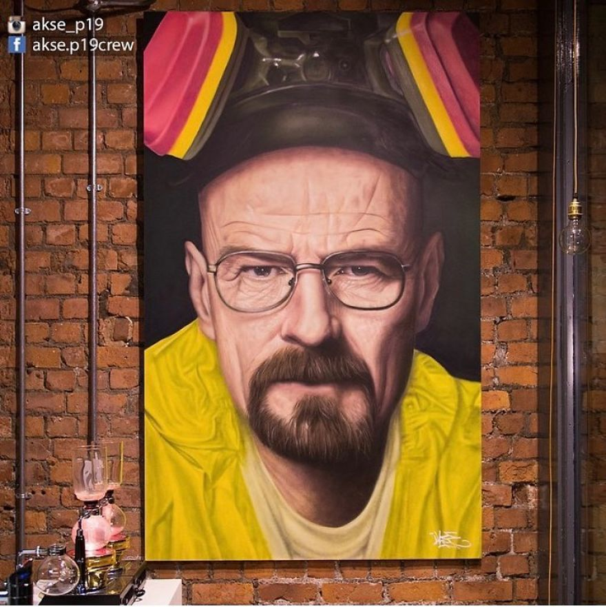 Bryan Cranston (Walter White In Breaking Bad)