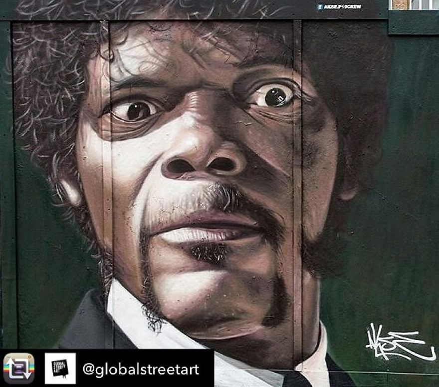 Samuel L. Jackson (Jules Winnfield In Pulp Fiction)